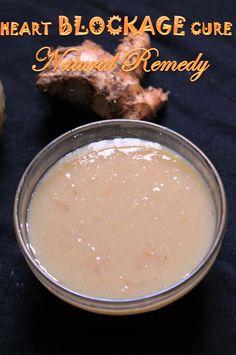 YUMMY TUMMY: Heart Blockage Cure / Apple Cider Vinegar, Honey, Lemon, Ginger & Garlic Drink - Natural Home Remedy for Heart Disease