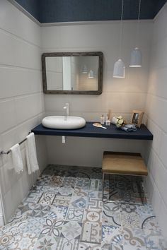 Groot formaat wandtegels on pinterest wall tiles white vans and ceramic wall tiles - Badkamer muur tegels porcelanosa ...