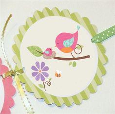 Resultado de imagen para centro de mesa passarinhos