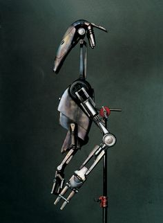 battle droid from Attack of the Clones