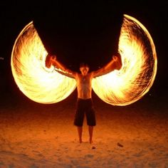 Poi - Fire wings