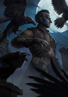 Fantasy Rpg, Medieval Fantasy, Fantasy Artwork, Dark Fantasy, Fantasy Portraits, Fantasy Male, Warhammer Fantasy, The Witcher Geralt, Witcher Art