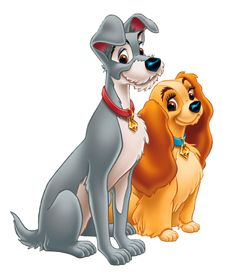 Lady and the Tramp Free PNG Picture - Scrapbooking - Disney Disney Pixar, Film Disney, Disney Dogs, Disney Art, Disney Movies, Cartoon Cartoon, Disney Cartoon Characters, Disney Cartoons, Images Disney