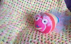 Easy Baby Crochet Blanket + Tutorial