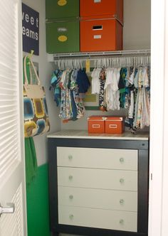 Love dressers in closets!  I have a dresser in my closet and it helps me organize.