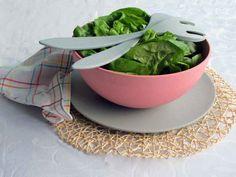Großer Teller, grau (Alternative zu 100% Melamin Geschirr) - Zuperzozial - Camping Geschirr
