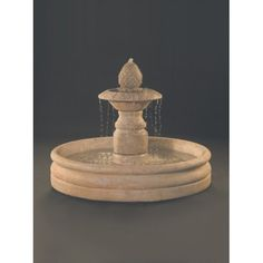 Venetian Cast Stone Outdoor Fountain With 46 Inch Basin Stone Fountains, Outdoor Fountains, Water Fountains, Something Just Like This, Filling System, Stone Planters, Underwater Lights, Set Up An Appointment, Water Walls