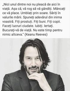 Live Your Life, Keanu Reeves, Beautiful Words, Motto, Cool Words, Qoutes, Spirituality, Love You, Inspirational Quotes