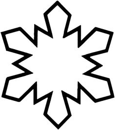Snowflake 5 coloring page from Seasons category. Select from 24413 printable crafts of cartoons, nature, animals, Bible and many more.