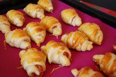 Bonjour Darling - Blog Illustration, Cuisine et DIY Bordeaux: Mini croissants jambon de Bayonne & Emmental