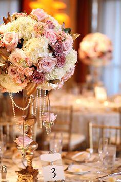 romantic vintage wedding centerpieces ideas