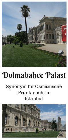 Ist der Dolmabahce Palast in Istanbul ein Symbol Osmanischer Prunktsucht? Alleine die Wände des 600 Meter langen Palastes sind mit 14 Tonnen Blattgold verziert worden .... http://www.tuerkeireiseblog.de/dolmabahce-palast/