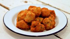 Salt Cod Fritters Frittelle di Baccala