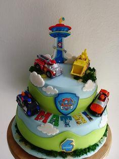 Paw Patro Birthday Cake, Cakes, Desserts, Kids, Food, Tailgate Desserts, Birthday Cakes, Postres, Deserts