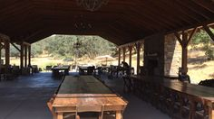 Dodasa Ranch is great for an event. Sleeps up to 150 in their cabins.