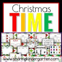 Christmas Activities - Sharing Kindergarten