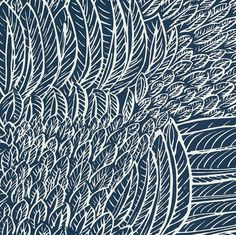 Feather fest wallpaper by F Schumacher. $63/roll Item 5007565. Low prices and fast free shipping on F Schumacher. Find thousands of patterns. Width 27 inches . Swatches available.