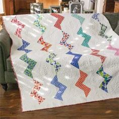 Seaside Breeze: Fresh Modern Full Size Quilt Pattern