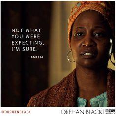 Birth Mother, orphan black