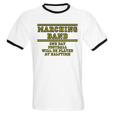 Marching Band: Football At Halftime Ringer T