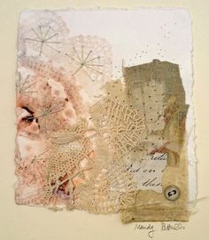 Mandy Pattullo/Thread and Thrift - Lacy Collage