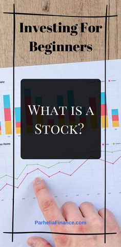 Are you looking to learn how to invest in the stock market? Learn the basic investing for beginners lesson, what is a stock, what stocks are in the stock market and investing in stocks. investment What is a Stock? Investing for Beginners Stock Market Investing, Investing In Stocks, Investing Money, Saving Money, Buy Stocks, Stocks To Invest In, Stocks For Beginners, Stock Market For Beginners, Stock Market Basics