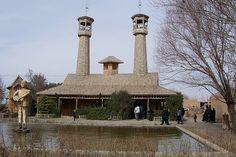 Wooden village-Khorasan province - Iran (Persia)