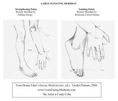 Large Intestine Meridian Strengthening & Sedating