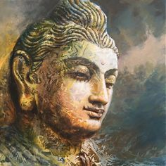 buddha_paintings, seshagiri pamula on ArtStation at https://www.artstation.com/artwork/oPJKW