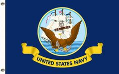 The United States Navy (USN) is the naval warfare service branch of the United States Armed Forces and today is Navy Birthday! Navy Day, Go Navy, Navy Blue, United States Navy, Us Navy Flag, Blue Flag, Usa Flag