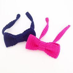 Crochet Bow Tie: Free Pattern
