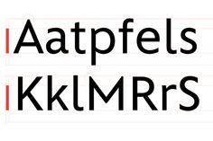 Disney Typefaces by Michael Cina, via Behance