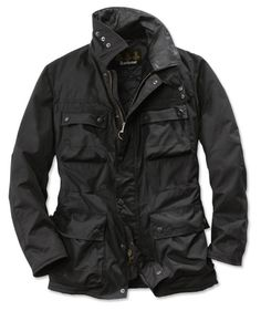 I NEED this coat - Carbon Barbour Utility Jacket