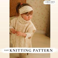 KNITTING PATTERN easy hooded poncho Phoebe x Beginner hooded   Etsy Baby Knitting Patterns, Crochet Poncho Patterns, Knitted Poncho, Knitting Stitches, Hooded Poncho, Stitch Crochet, Bobble Stitch, Purl Stitch, Velvet Acorn