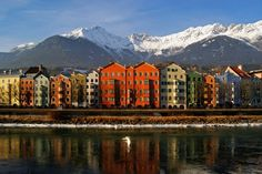 Innsbruck, Austria  Picture postcard scenery! Visited April, 2006 when my son was studying abroad.