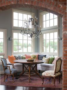 Eclectic Dining Room Playroom Design, Pictures, Remodel, Decor and Ideas