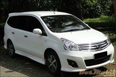 Modif Nissan Grand Livina Putih