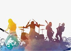 Rock Band, Music Material, Band PNG and PSD