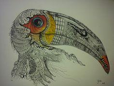 #zentangle art By P. GUL AGIRCA
