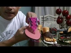 1st part Sandalias hechas con macrame - YouTube