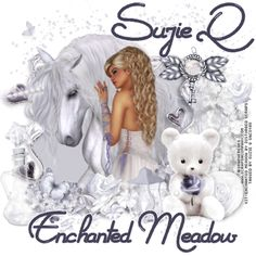 """Tube """"Enchanted Meadow"""" by GraphFreaks  Kit """"Enchanted Meadow"""" by Disturbed Scraps  http://qtagsbysuzieq.blogspot.com/2015/03/combine-ct-tags-and-snags-for.html"""