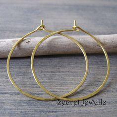 Hammered Brass Hoop Earrings Gold Hoop Earrings Natural Brass Earrings Brass Jewelry Hoop Earrings USD) by SecretJewellz Gold Hoops, Gold Hoop Earrings, Brass Jewelry, Unique Jewelry, My Style, Etsy, Bracelets, Gifts, Natural