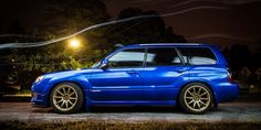 Subaru Forester sti - if I ever have kids and this, it would be a roller coaster ride every time to and from school!