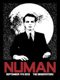 Gary Numan Pop Art Posters, Band Posters, 80s Music, Rock Music, Dad Drawing, Gary Numan, Rock Videos, Wayback Machine, Pop Rocks