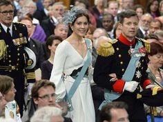 FIRST NEW DUTCH MONARCH!!!  Denmarks Crown Prince Frederik and Crown Princess Mary arrive at New Church in Amsterdam