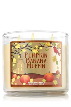 Pumpkin Banana Muffin 3-Wick Candle - Home Fragrance 1037181 - Bath & Body…