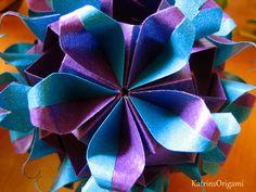 origami khanuma kusudama Origami Khanuma Kusudama