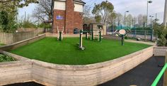 Artificial Grass Installation, Kids Play Area, Back Gardens, Get Outside, Playground, Golf Courses, Sidewalk, Primary School, Nurseries