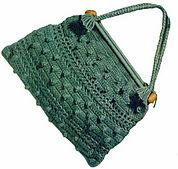 Ravelry: Green Knitting Bag pattern by American Thread Company
