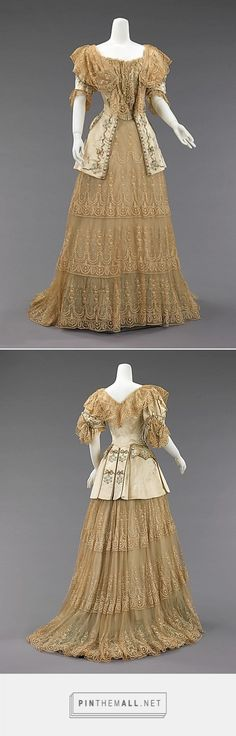 Evening dress by Rouff ca. 1895 French | The Metropolitan Museum of Art